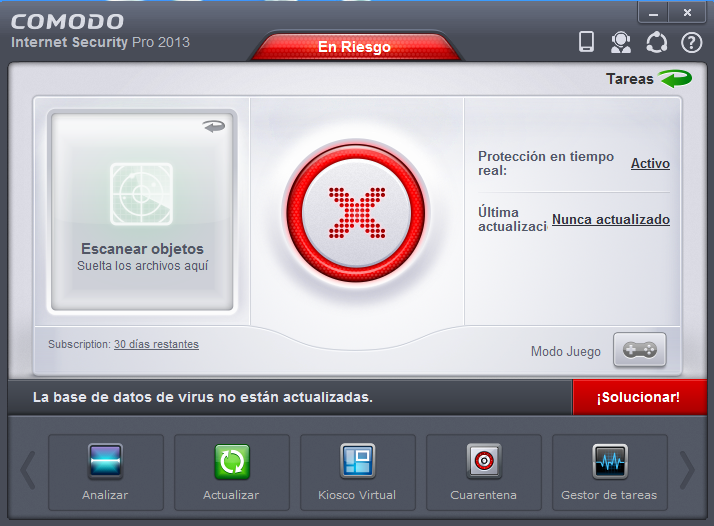 Comodo Internet Security Pro (Sorteo) Interfaz+principal