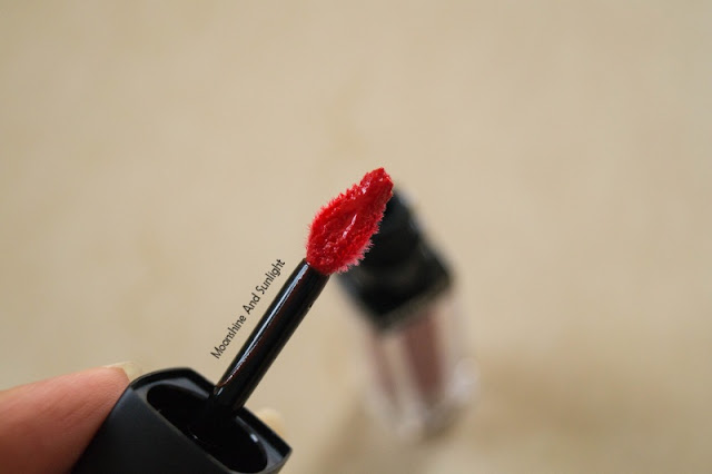 Maybelline VELVET MATTE lipstick in MAT7 Review , Swatch,photos