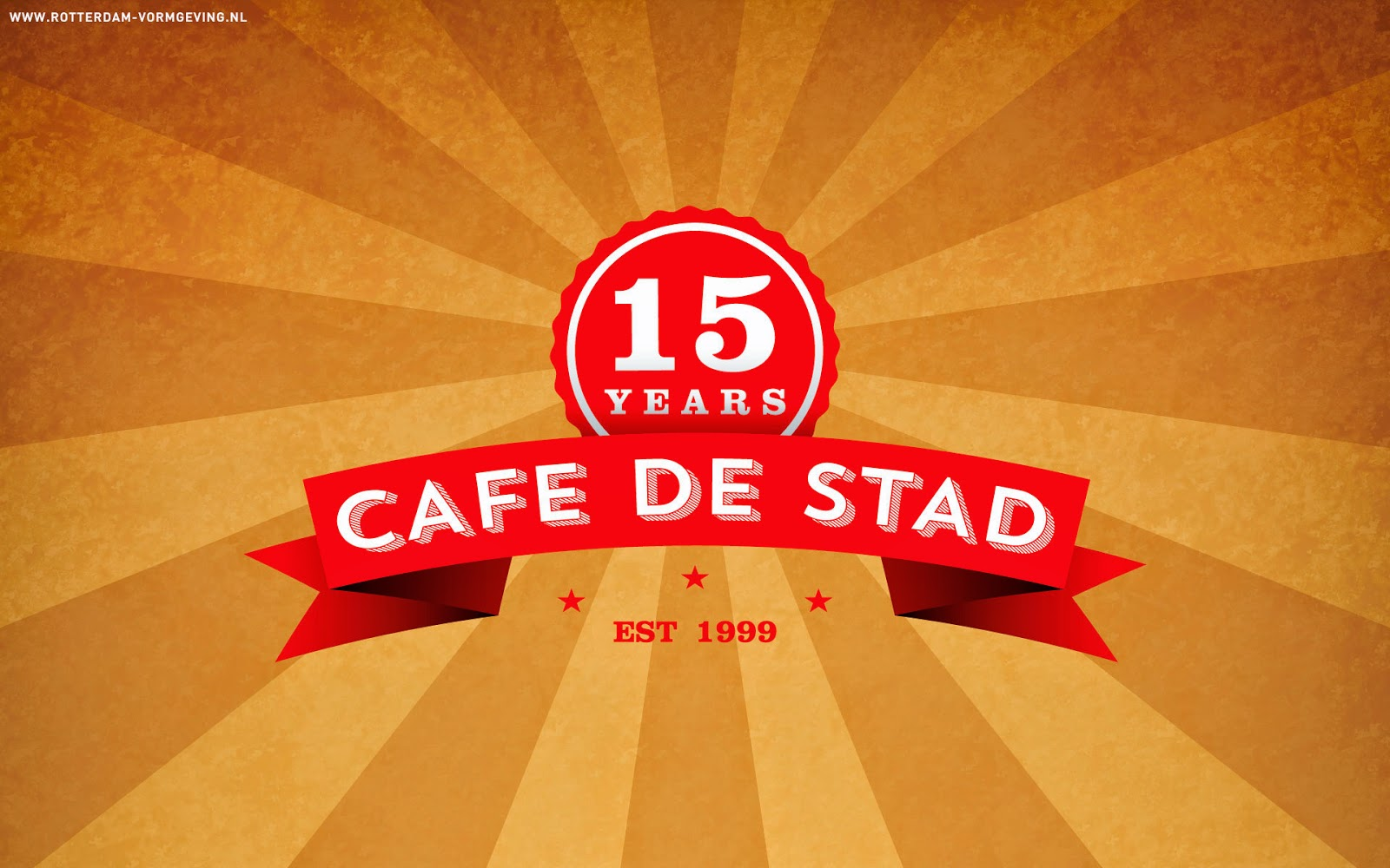 Download gratis screensaver Café de Stad