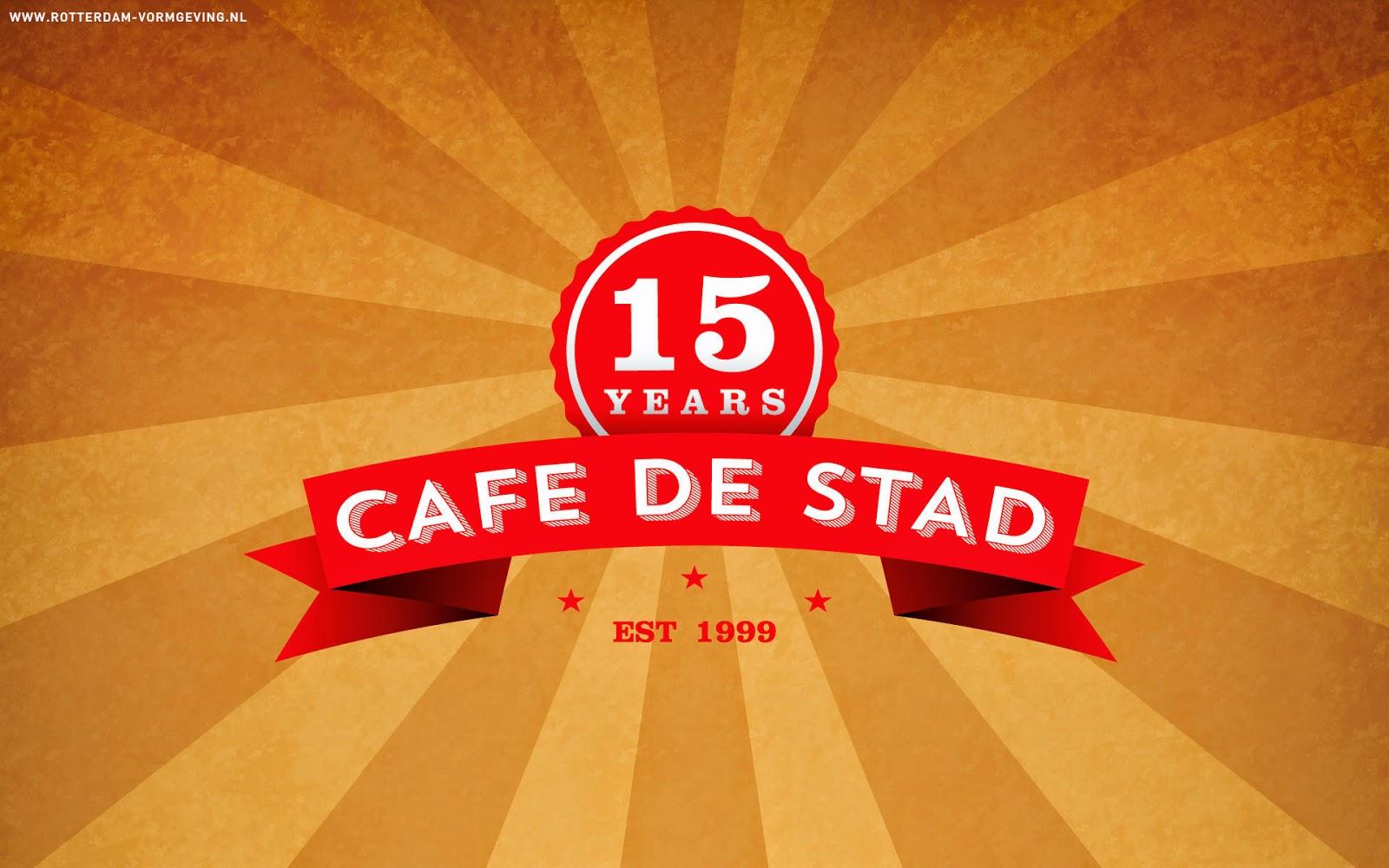 Download gratis screensaver Café de Stad
