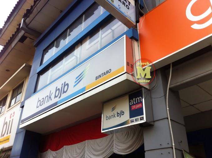 Cara Bayar Pajak Tahunan STNK Daerah Tangerang Selatan - Ke Bank BJB Saja