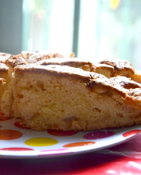 torta al mascarpone e pere