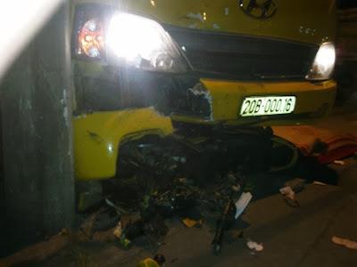 Không đội mũ bảo hiểm, 2 người chết thảm vì tai nạn, thế giới lốp, lop xe, lốp xe ô tô, giá lốp, gia lop