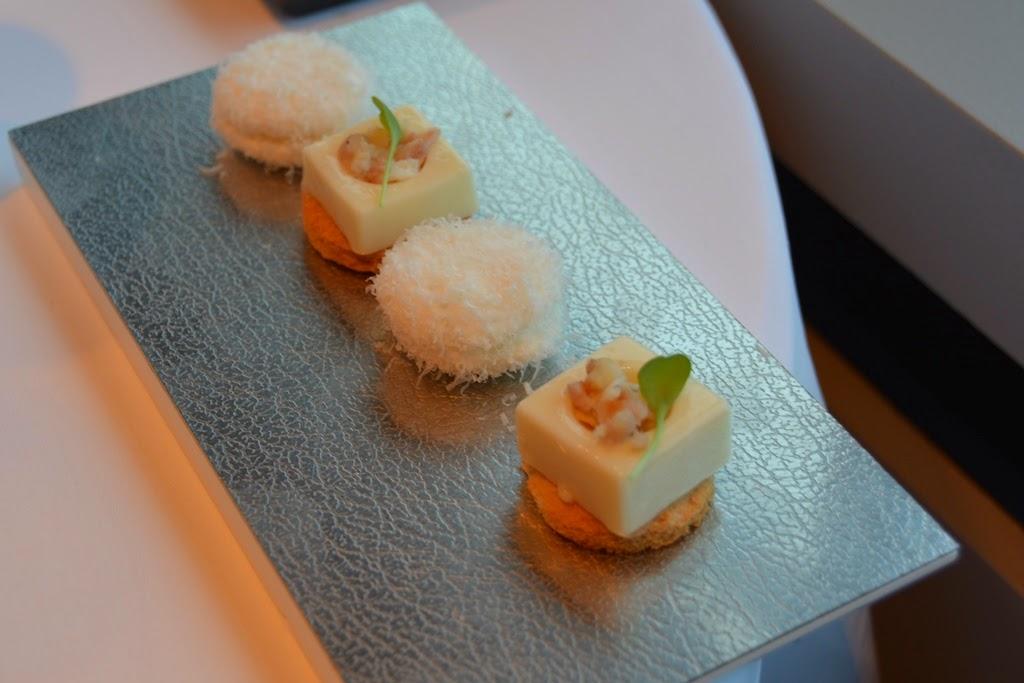 Restauraunt Sel Gris Knokke eel cheese