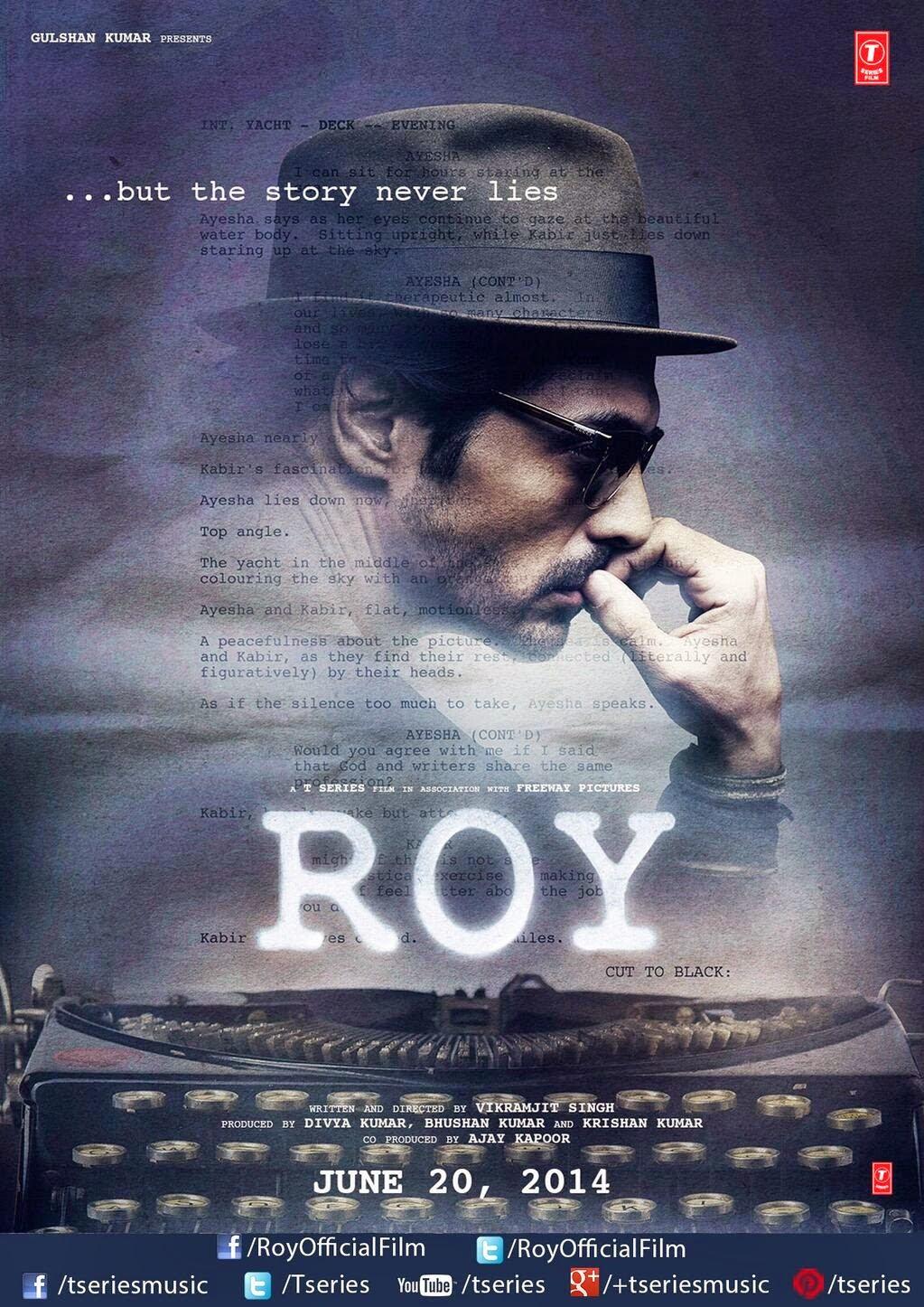 Arjun Rampal's Roy Poster