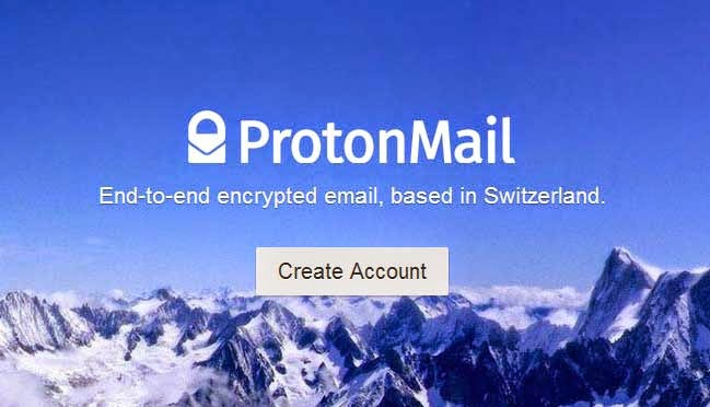 website proton mail