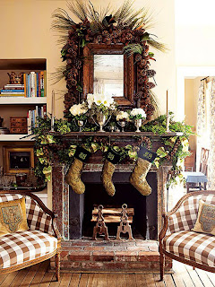 Fireplace Decorating for Christmas, Part 4