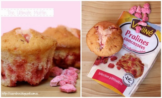 receta de muffin, recepta de muffin, muffin esponjoso y jugoso, muffin esponjós i sucós, muffin de almendras garrapiñadas, muffin d'ametlles garrapinyades, el muffin perfecte, el muffin perfecto, madalena esponjosa y jugosa, magdalena esponjosa i sucosa, receta de madalena, recepta de magdalena, vahiné
