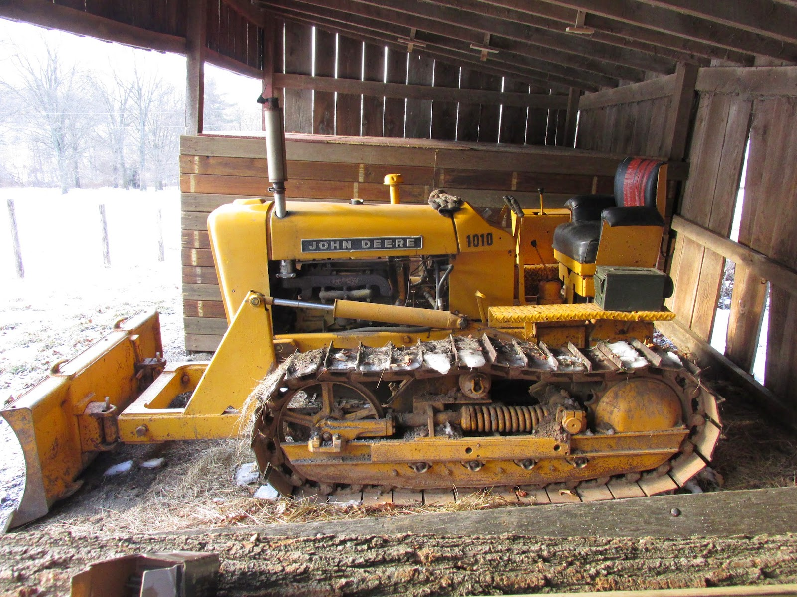 Jd 1010 Crawler Dozer : Allegheny mountain wanderings look out mother nature