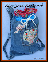 http://ginascraftcorner.blogspot.com/2013/07/blue-jean-backpack.html