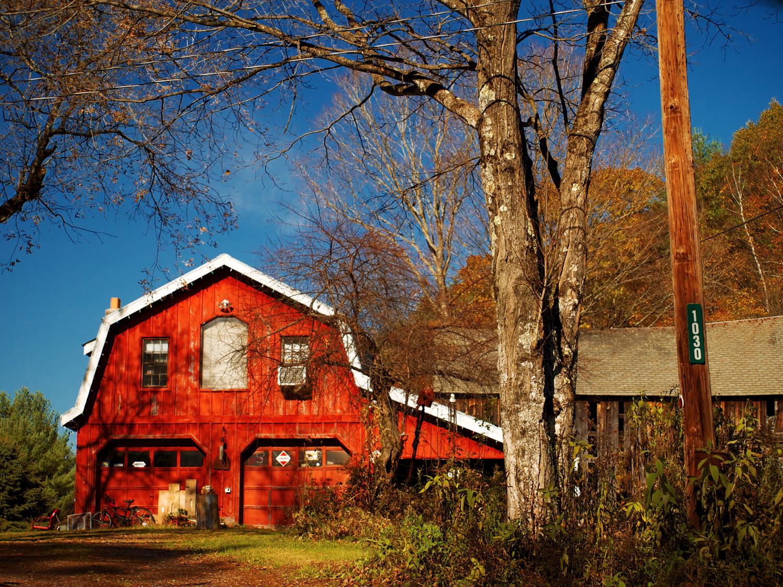 Vermont el oto o perfecto el guisante verde project for Cabine in montagne verdi del vermont