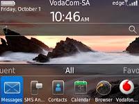 BlackBerry OS 6 Untuk Gemini