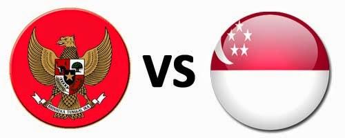 Timnas Indonesia U-19 vs Singapura 2014