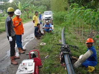 Projek Pemasangan Pipa Hdpe Exxon Mobil