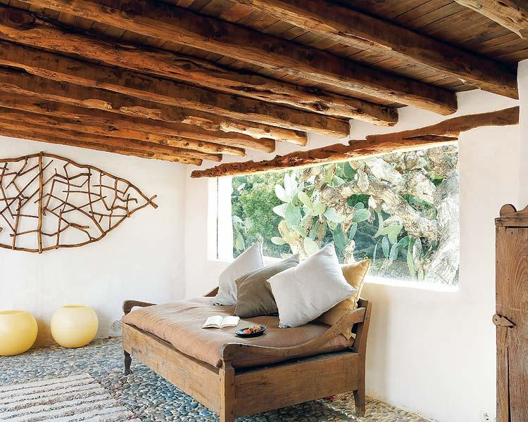 una casa en formentera con decoracin chill out