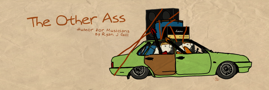The Other Ass - Music Comics by Ryan J. Gill
