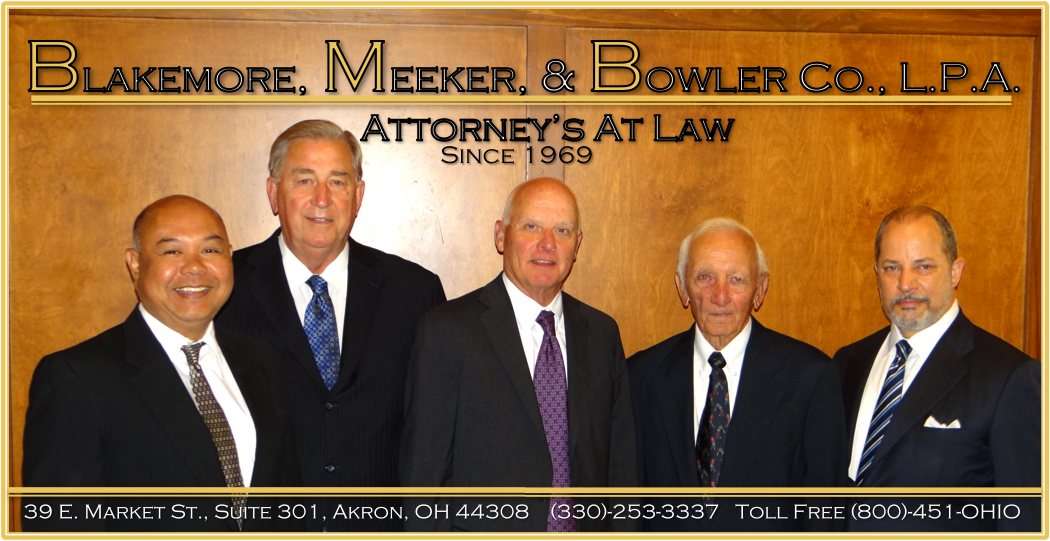 Blakemore, Meeker, & Bowler- Attorneys at law, Akron, Ohio,  Criminal Law  Personal Injury