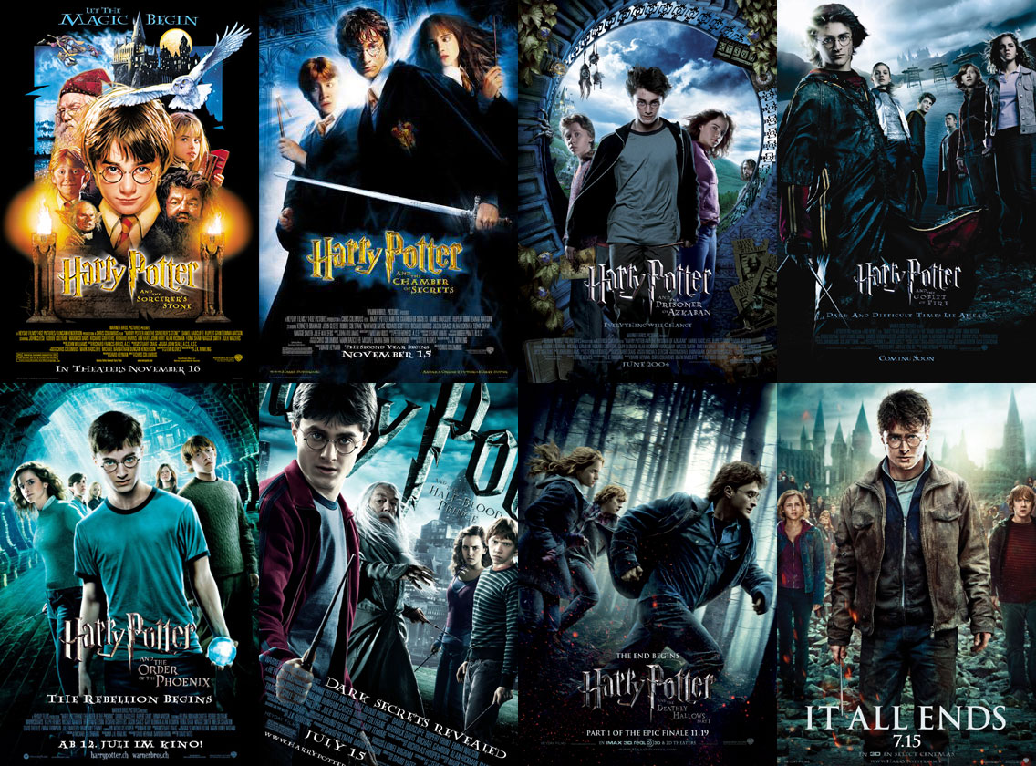 the harry potter series Harry james potter is the main character in j k rowling's harry potter fantasy series the books cover seven years in the life of the orphan who, on his 11th birthday, learns he is a wizard and the son of magical parents lily and james potter.