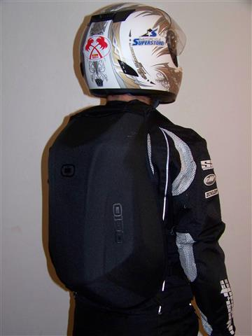 Musings of a Crotch Rocketeer  Quick Gear Review  Ogio No Drag Mach ... 453565152a20a
