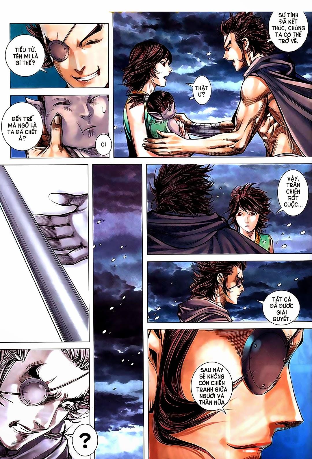Phong Thần Ký Chap 182 - Trang 21