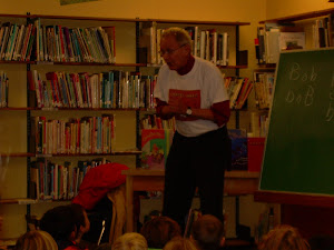 Author visits Gibsons Elementary School