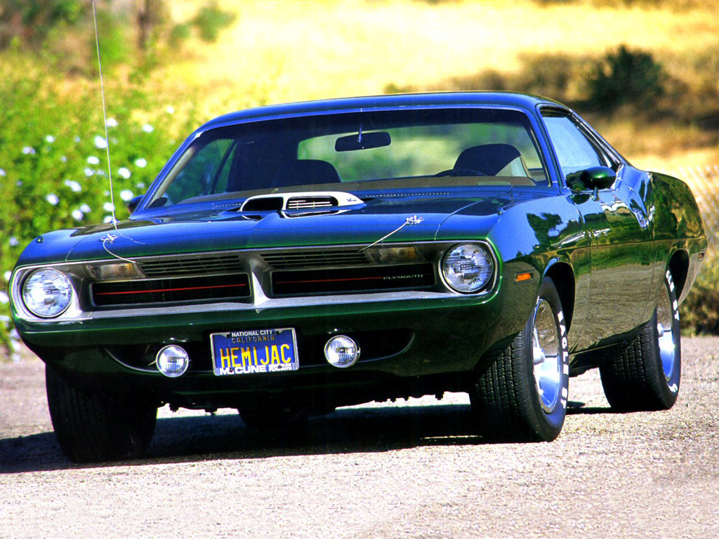 The Greatest Muscle Cars From