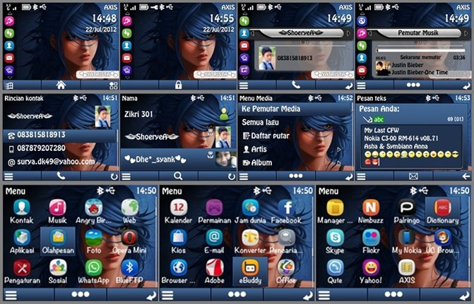 ... PPM Custom Nokia C3 Asha & Symbian anna icon ~ All About Nokia C3-00