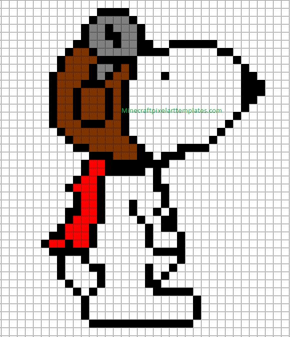 pixel art minecraft templates