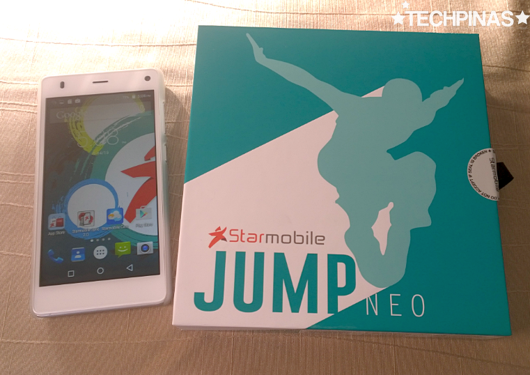 Starmobile Jump Neo, Starmobile Lollipop Smartphone