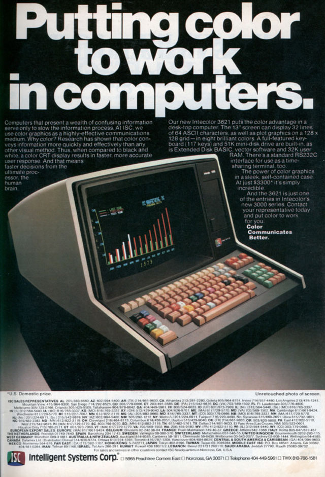 introduction of personal computers in 1970s