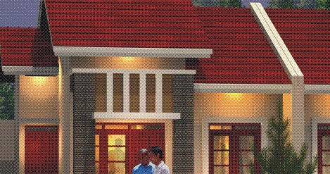 rumahku-1: denah rumah sederhana rumah type 36