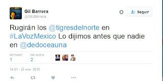 Los Tigres Del Norte en La Voz México 2016