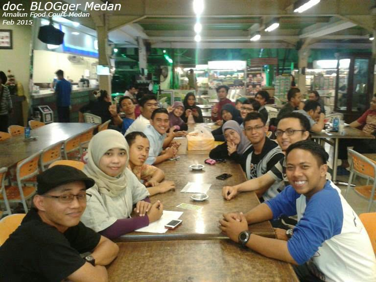 amaliun food court blogger medan