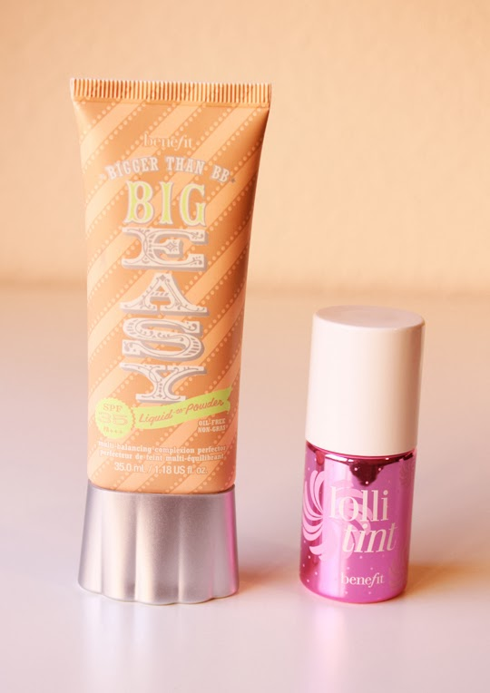Big Easy y Lolli Tint de Benefit
