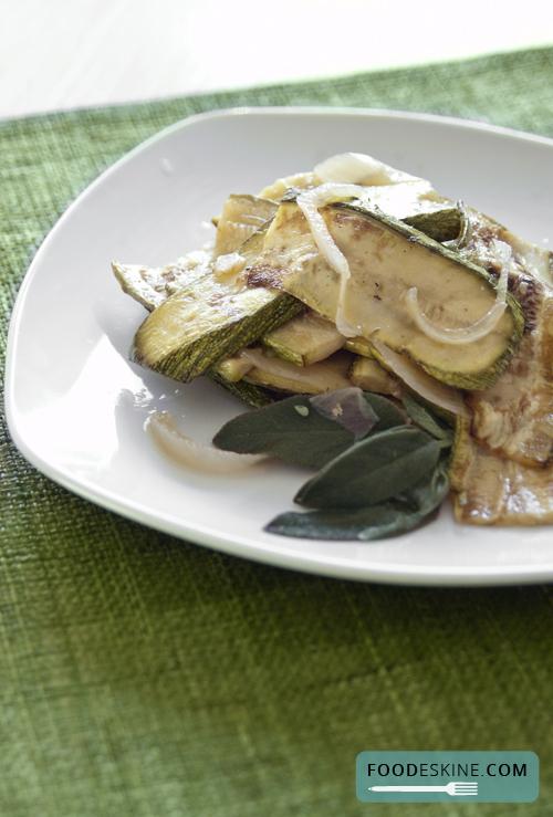 Zucchine in carpione (come mamma le ha fatte).