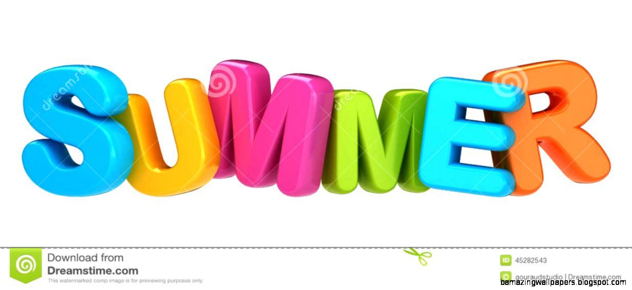 Summer Word Stock Illustration   Image 45282543
