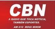 ouvir a Rádio CBN AM 610,0 Mogi Mirim SP