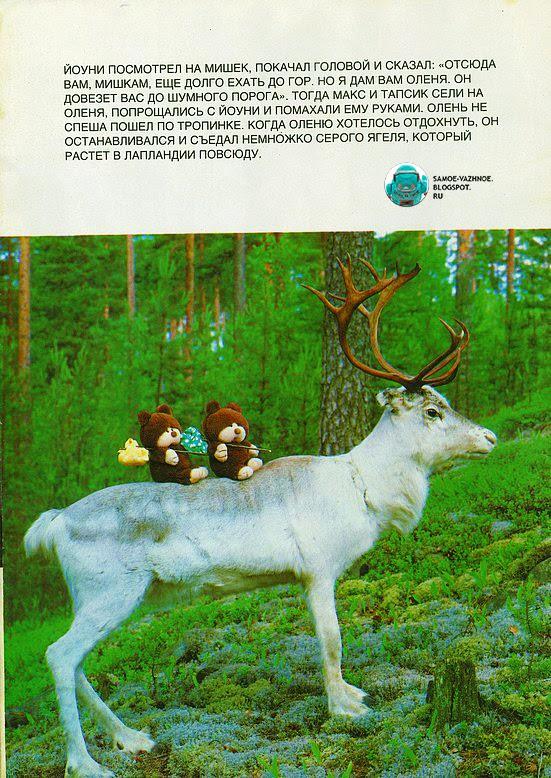 Мишка Макс в Лапландии картинки