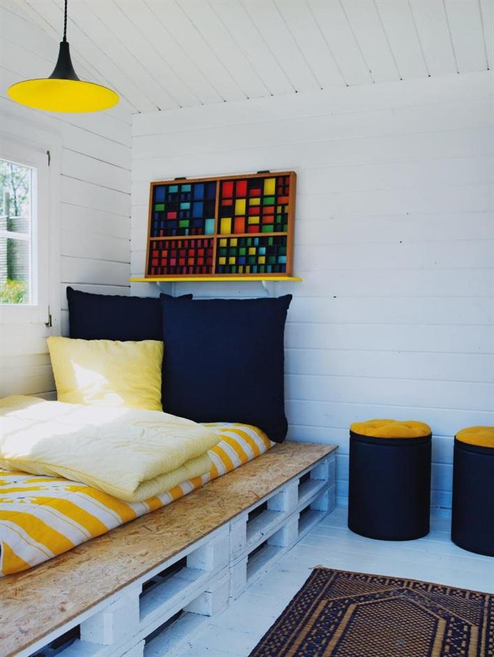 En mi espacio vital muebles recuperados y decoraci n - Reciclaje de pales ...