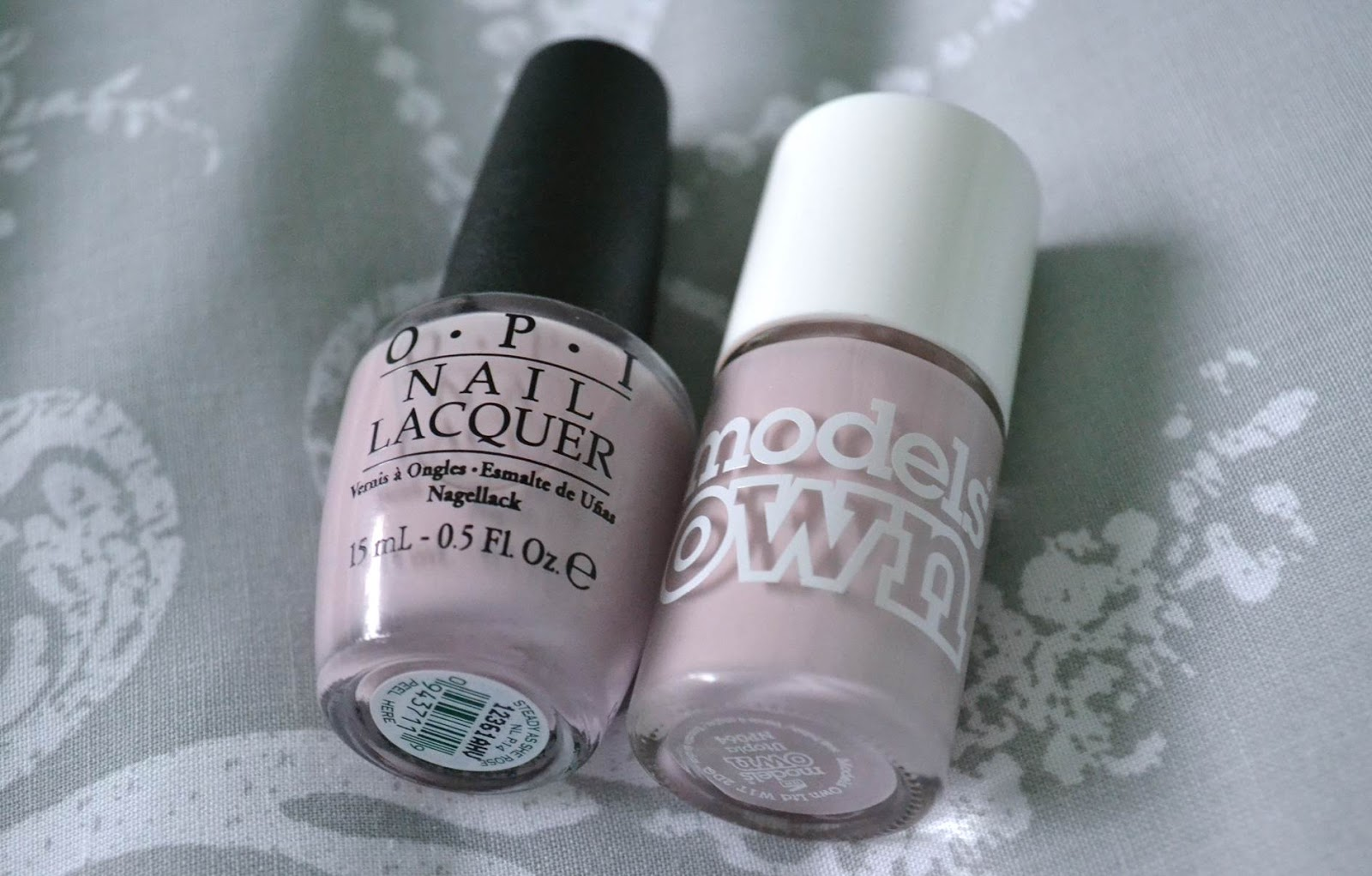 Freckled Elle: OPI Steady As She Rose and Models Own ...