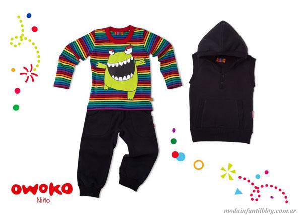 owoko ropa para niños invierno 2013