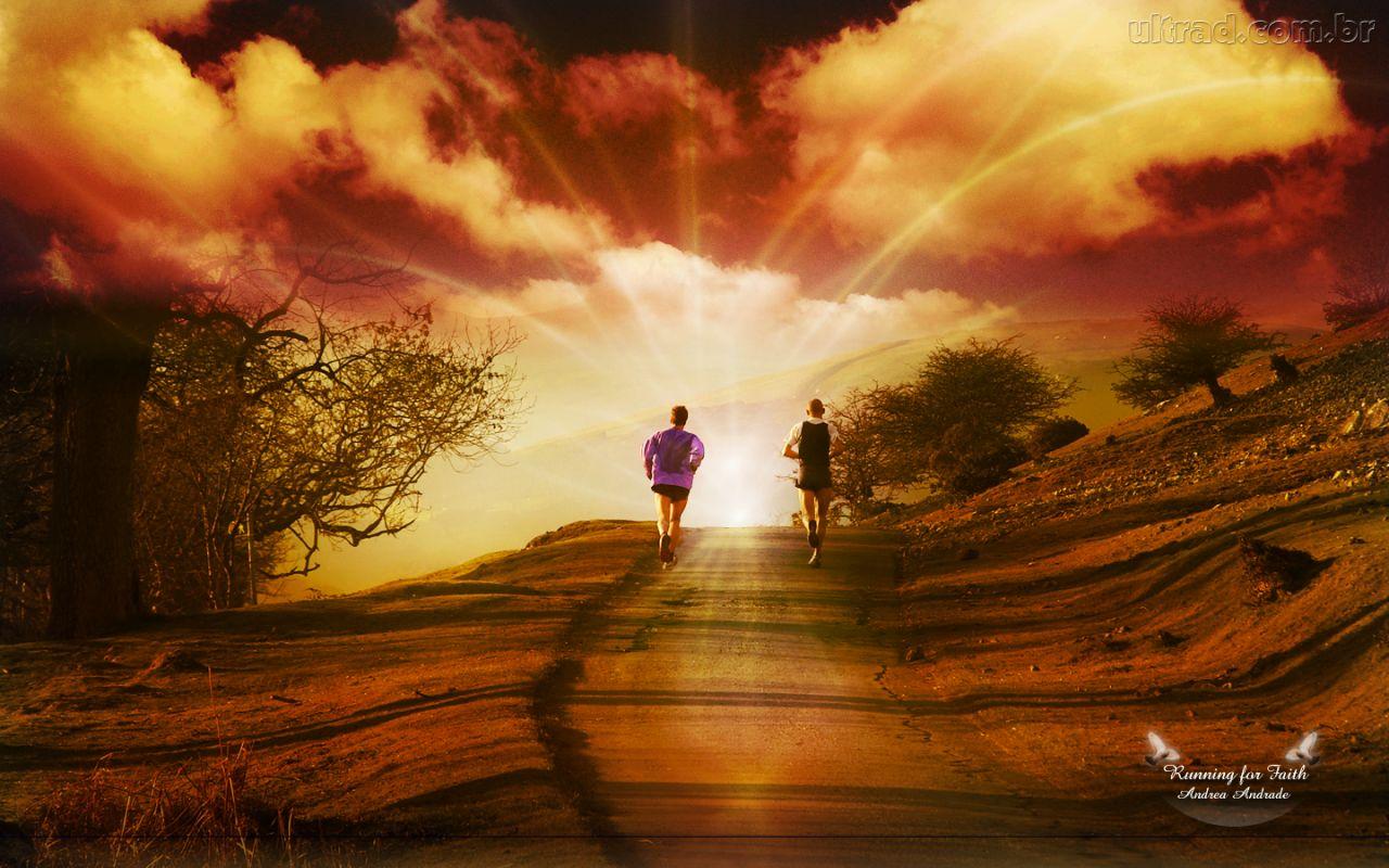Esboços e estudos bíblicos - A corrida da fé (Hebreus 12:1,2)