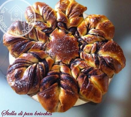 stella di natale di pan brioches