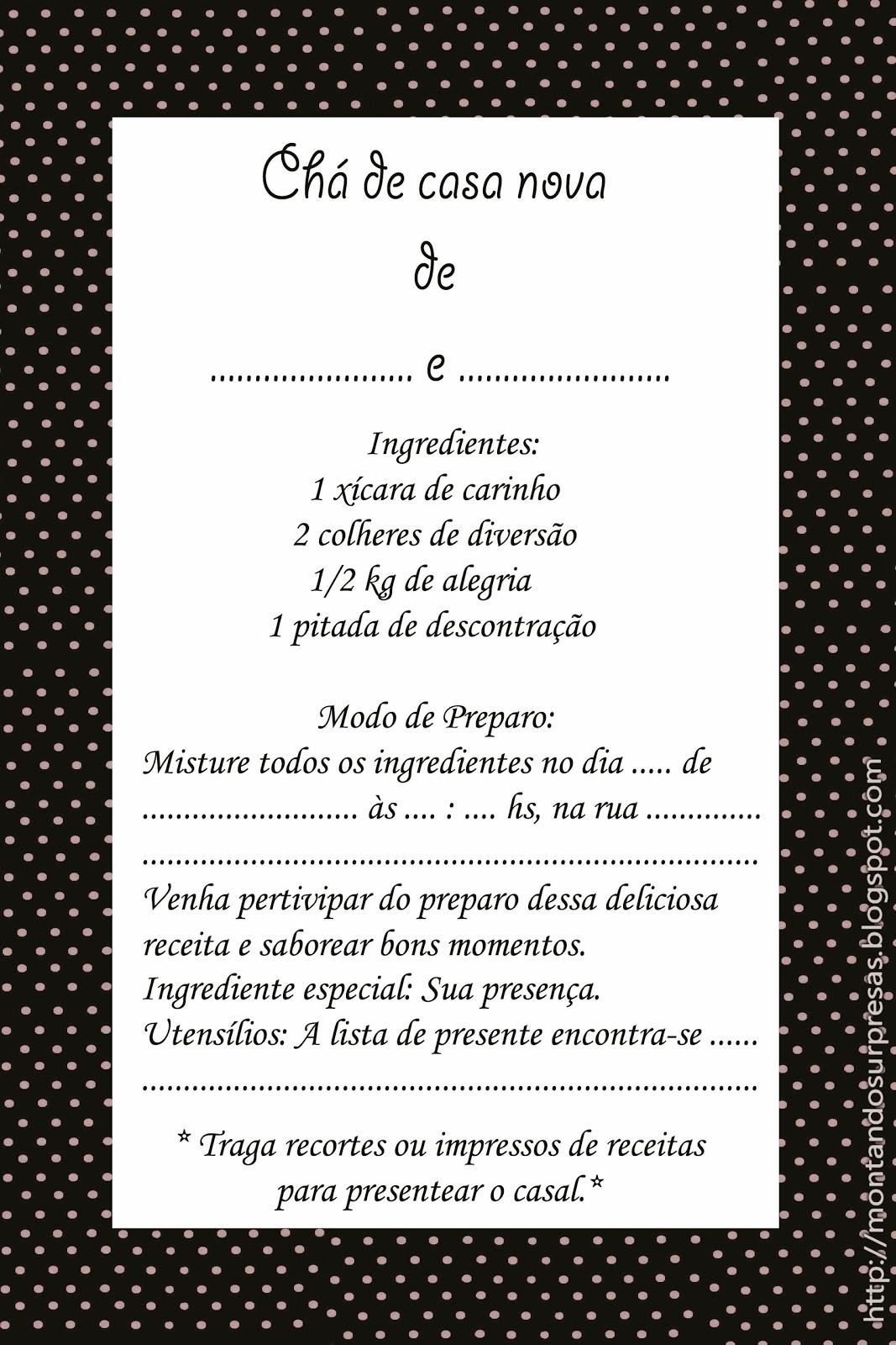 Jessica Valle Jessicavalle758 On Pinterest ~ Lista Chá De Cozinha Pronta