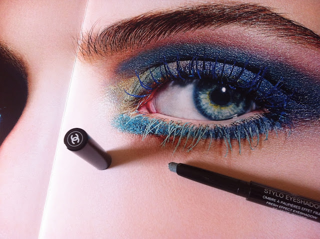 CHANEL L'Eté Papillon Summer Collection 2013 make up maquillage estate Le Vernis Azuré Bel-Argus Lilis Stylo Eyeshadow Inimitable Waterproof Mascara