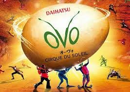 cirque du soleil, ovo, tokyo, japan, circus