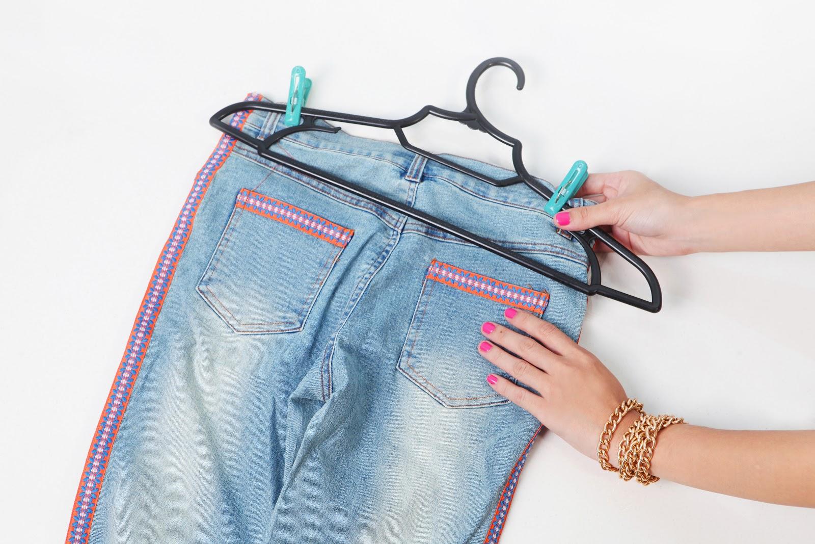 Как отстирать краску с джинсов : чем оттереть в домашних условиях 65