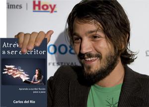 Diego Luna con Atrévete a ser escritor, de Carlos del Río