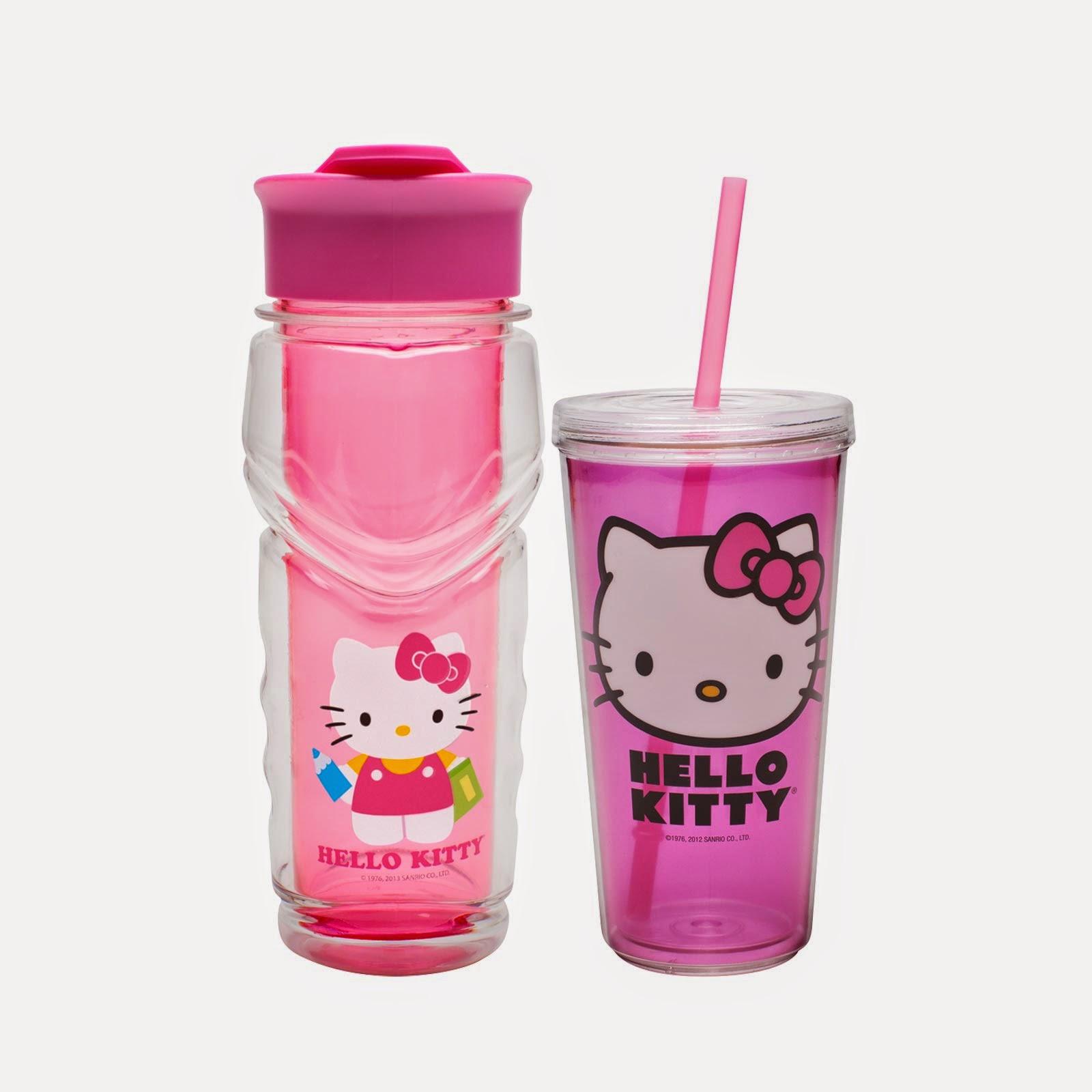 Gambar botol minum hello kitty untuk anak gratis