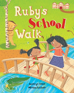 Ruby's School Walk: Barefoot Books-LadyD